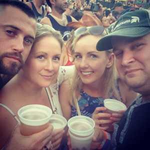 Basil attended The Fest - Country on Jul 3rd 2019 via VetTix