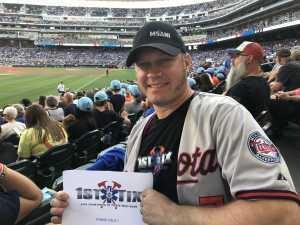 Nate attended Minnesota Twins vs. New York Yankees - MLB on Jul 22nd 2019 via VetTix