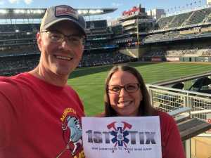 Daniel attended Minnesota Twins vs. New York Yankees - MLB on Jul 22nd 2019 via VetTix