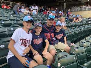 Seth attended Minnesota Twins vs. New York Yankees - MLB on Jul 22nd 2019 via VetTix