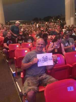 John attended Blink-182 & Lil Wayne - Pop on Jul 9th 2019 via VetTix