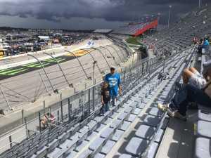 Craig attended Bojangles' Southern 500 - Monster Energy NASCAR Cup Series on Sep 1st 2019 via VetTix
