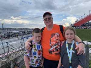 Robert attended Bojangles' Southern 500 - Monster Energy NASCAR Cup Series on Sep 1st 2019 via VetTix