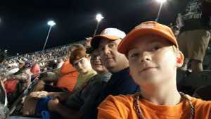 Gary attended Bojangles' Southern 500 - Monster Energy NASCAR Cup Series on Sep 1st 2019 via VetTix