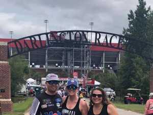 Jeffrey Jr attended Bojangles' Southern 500 - Monster Energy NASCAR Cup Series on Sep 1st 2019 via VetTix