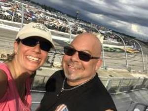 Charles attended Bojangles' Southern 500 - Monster Energy NASCAR Cup Series on Sep 1st 2019 via VetTix