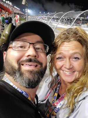 Marsha attended Bojangles' Southern 500 - Monster Energy NASCAR Cup Series on Sep 1st 2019 via VetTix