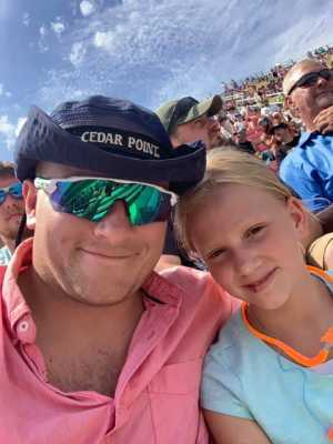 Thomas attended Consumers Energy 400 - Monster Energy NASCAR Cup Series on Aug 11th 2019 via VetTix