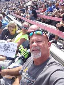 LARRY attended Consumers Energy 400 - Monster Energy NASCAR Cup Series on Aug 11th 2019 via VetTix