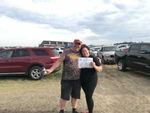 Chad attended Consumers Energy 400 - Monster Energy NASCAR Cup Series on Aug 11th 2019 via VetTix