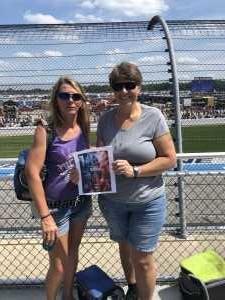 Jennifer attended Consumers Energy 400 - Monster Energy NASCAR Cup Series on Aug 11th 2019 via VetTix