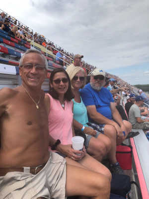 Allen attended Consumers Energy 400 - Monster Energy NASCAR Cup Series on Aug 11th 2019 via VetTix