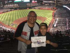 C. Matt attended Arizona Diamondbacks vs. Colorado Rockies - MLB on Jul 5th 2019 via VetTix