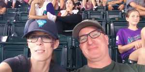 Eric attended Arizona Diamondbacks vs. Colorado Rockies - MLB on Jul 5th 2019 via VetTix