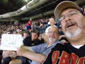 Howard attended Arizona Diamondbacks vs. Colorado Rockies - MLB on Jul 5th 2019 via VetTix