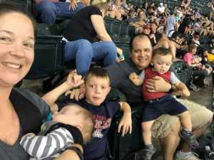 Pierre attended Arizona Diamondbacks vs. Colorado Rockies - MLB on Jul 5th 2019 via VetTix