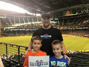 Severin attended Arizona Diamondbacks vs. Baltimore Orioles - MLB on Jul 23rd 2019 via VetTix