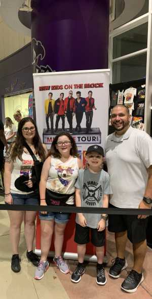 NKOTB!!! attended New Kids on the Block: the Mixtape Tour - Pop on Jul 10th 2019 via VetTix