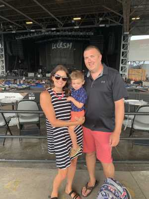 Travis attended Chris Young: Raised on Country Tour - Country on Jul 11th 2019 via VetTix