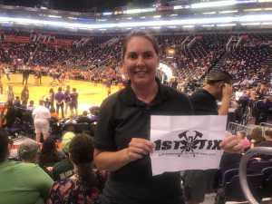 Joy attended Phoenix Mercury vs. New York Liberty - WNBA on Jul 5th 2019 via VetTix