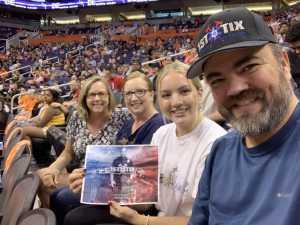 Jack attended Phoenix Mercury vs. New York Liberty - WNBA on Jul 5th 2019 via VetTix