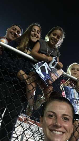 Frank attended Sky Blue FC vs. Chicago Red Stars - Nwsl - National Womens Soccer League on Aug 14th 2019 via VetTix