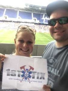 Anthony attended Sky Blue FC vs. Seattle Reign - NWSL - National Womens Soccer League on Aug 18th 2019 via VetTix