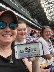 Mary attended Sky Blue FC vs. Seattle Reign - NWSL - National Womens Soccer League on Aug 18th 2019 via VetTix