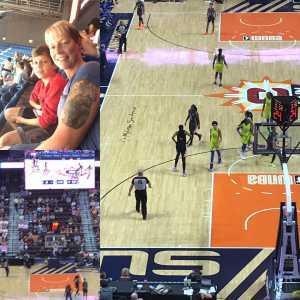 Bridget attended Connecticut Sun vs. Dallas Wings - WNBA - Basketball on Aug 18th 2019 via VetTix
