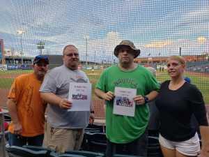 Brett attended Gary Southshore Railcats vs. Milwaukee Milkmen - American Association of Independent Professional Baseball on Aug 16th 2019 via VetTix