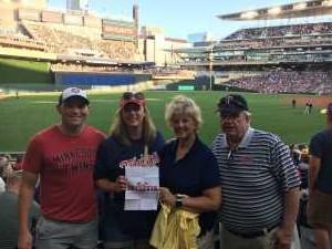 Timothy attended Minnesota Twins vs. Atlanta Braves - MLB on Aug 6th 2019 via VetTix