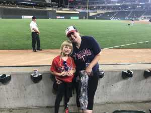 Melissa attended Minnesota Twins vs. Atlanta Braves - MLB on Aug 6th 2019 via VetTix