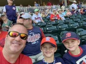 Chad attended Minnesota Twins vs. Atlanta Braves - MLB on Aug 7th 2019 via VetTix