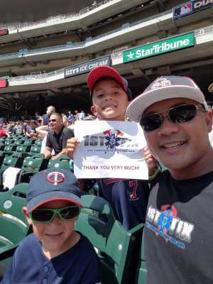 Danny attended Minnesota Twins vs. Atlanta Braves - MLB on Aug 7th 2019 via VetTix