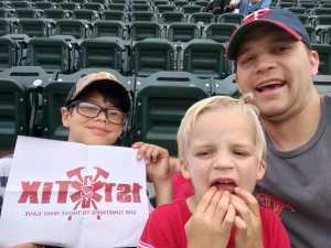 Brandon attended Minnesota Twins vs. Cleveland Indians - MLB on Aug 9th 2019 via VetTix