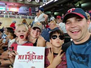 Brandon attended Minnesota Twins vs. Kansas City Royals - MLB on Aug 3rd 2019 via VetTix