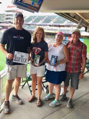 Steve attended Minnesota Twins vs. Kansas City Royals - MLB on Aug 3rd 2019 via VetTix