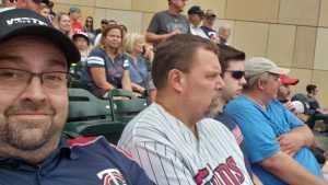 Michael attended Minnesota Twins vs. Kansas City Royals - MLB on Aug 3rd 2019 via VetTix