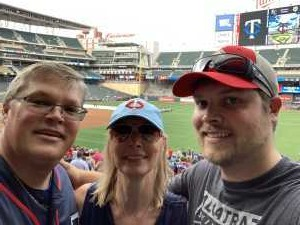Todd attended Minnesota Twins vs. Kansas City Royals - MLB on Aug 3rd 2019 via VetTix