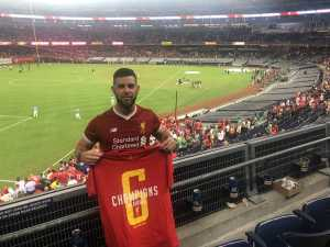 Brian attended The Western Union Cup - Liverpool FC vs. Sporting Cp - Professional Soccer on Jul 24th 2019 via VetTix