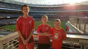 Frank attended The Western Union Cup - Liverpool FC vs. Sporting Cp - Professional Soccer on Jul 24th 2019 via VetTix