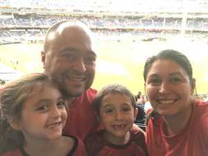 Joshua attended The Western Union Cup - Liverpool FC vs. Sporting Cp - Professional Soccer on Jul 24th 2019 via VetTix