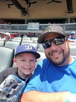 Heather attended Atlanta Braves vs. Los Angeles Dodgers - MLB on Aug 18th 2019 via VetTix