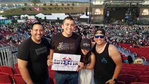 Andre attended Zac Brown Band: The Owl Tour on Jul 25th 2019 via VetTix