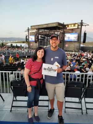 Cainan attended Zac Brown Band: The Owl Tour on Jul 25th 2019 via VetTix