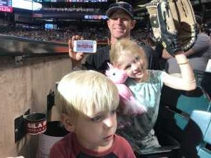 Patrick attended Arizona Diamondbacks vs. San Francisco Giants - MLB - First Responders Thank You on Aug 17th 2019 via VetTix