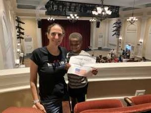 Suzanne attended The Magic of Lyn Jr. Experience - Matinee on Jul 31st 2019 via VetTix