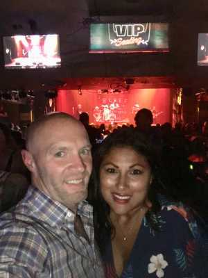 joshua attended Earth to Mars - a Tribute to Bruno Mars - Pop on Aug 9th 2019 via VetTix