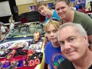 AH attended Infinity Toy and Comic Convention *see Notes on Aug 24th 2019 via VetTix
