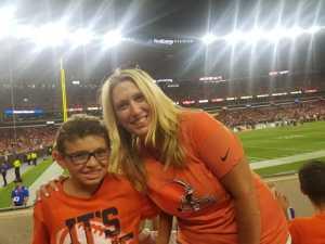 joshua attended Cleveland Browns vs. Washington Redskins - NFL Preseason on Aug 8th 2019 via VetTix